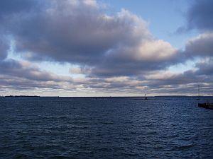 ヘルシンキ方面へバルト海を ...