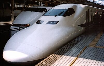 Shinkansen-Bullet train