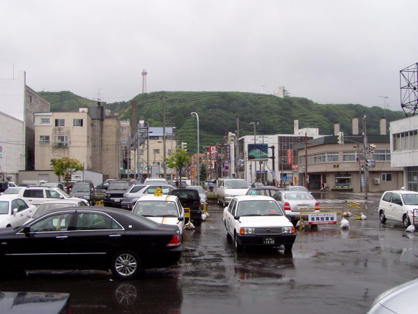 Bahnhofsvorplatz -- und Stadtzentrum
