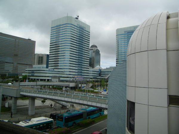 Kaihin Makuhari an der Küste der Bucht von Tokyo