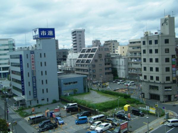 Im Stadtzentrum von Chiba