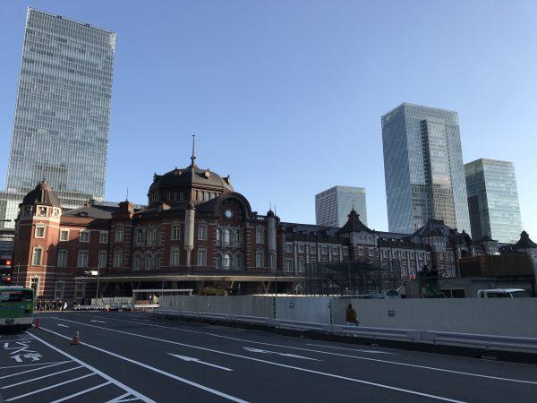 Der Bahnhof von Tokyo