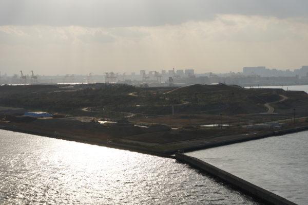 Die neueste Insel und ehemalige Mülldeponie