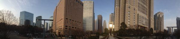 Panorama von Shinjuku-West