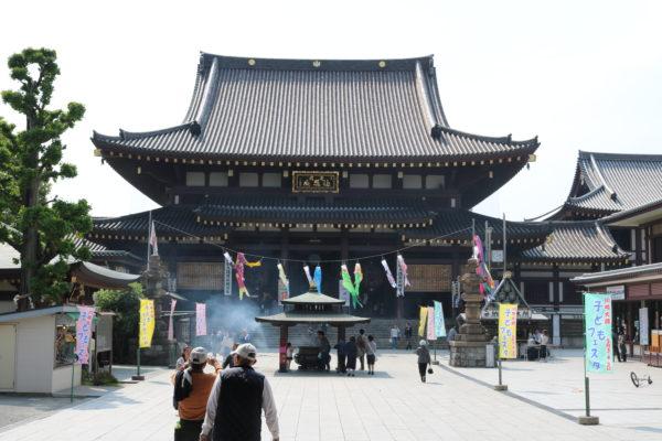 Haupthalle des Kawasaki Daishi