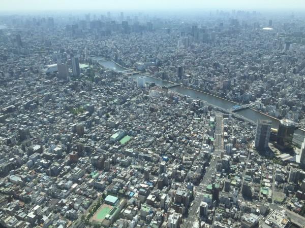 So weit das Auge reicht: Häusermeer von Tokyo