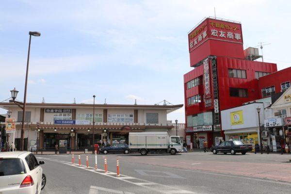 Bahnhof Narita der privaten Keisei-Linie