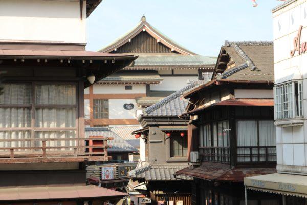 Narita - Blick von der Omotesandō Richtung Naritasan