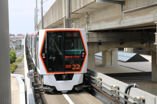 Das sogenannte New Shuttle (Ina-Linie)