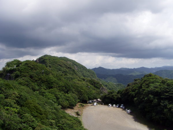 Blick vom Sägenberg auf das Innere der Halbinsel