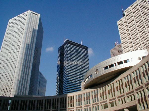 Skyline von West-Shinjuku