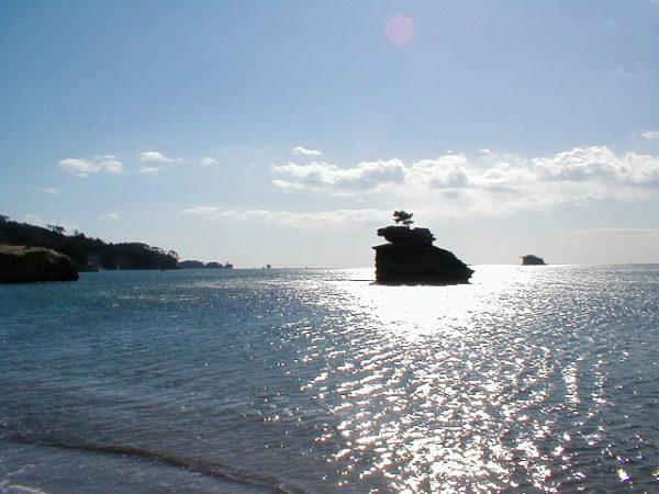 Eine der zahllosen Inseln