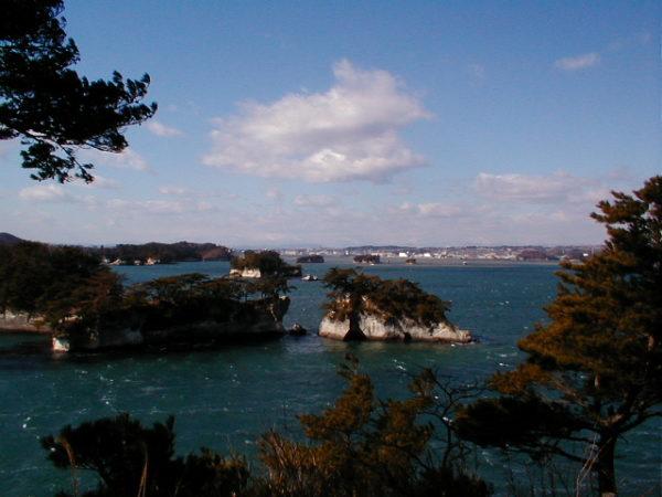 In der Bucht von Matsushima