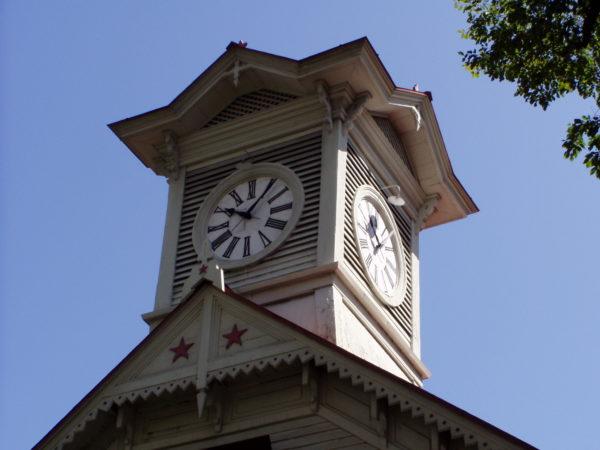 Wahrzeichen der Stadt: Der Uhrenturm