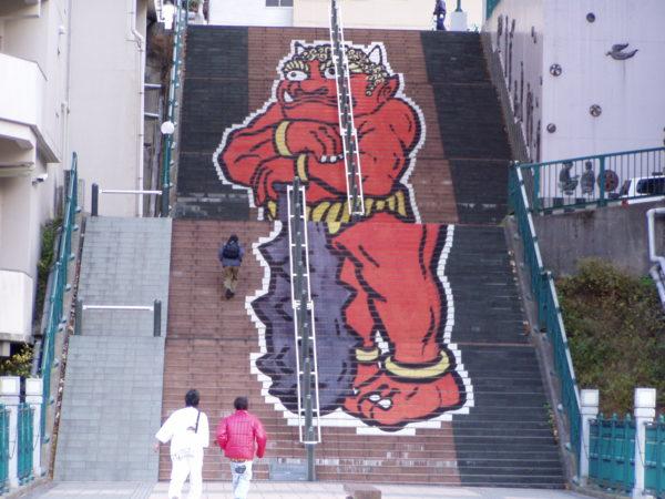 Die Treppe im Ortszentrum hingegen hat ihren Reiz