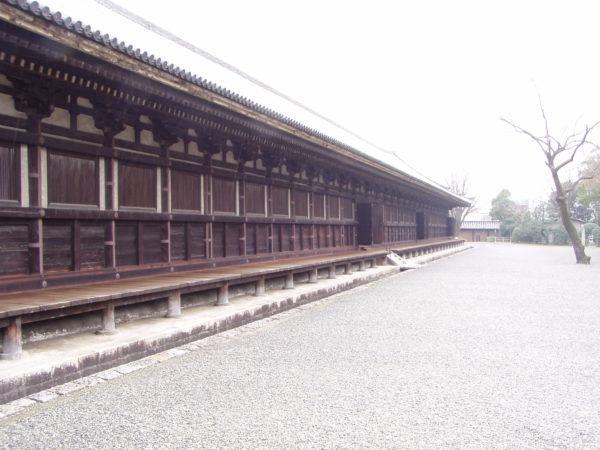 Aussenansicht des Sanjūsangen-dō