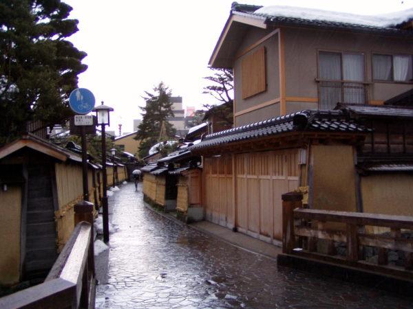 Kanazawa - im ehemaligen Samuraiviertel