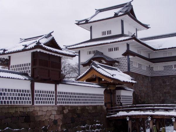 Replika der Burg von Kanazawa