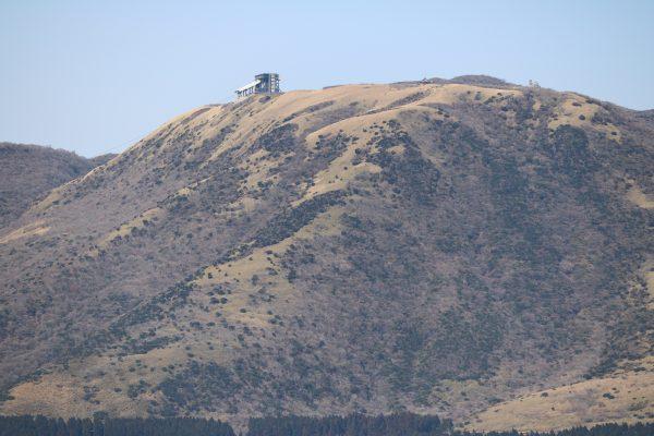 Der Komagatake - mit Seilbahnstation, die man nicht übersehen kann