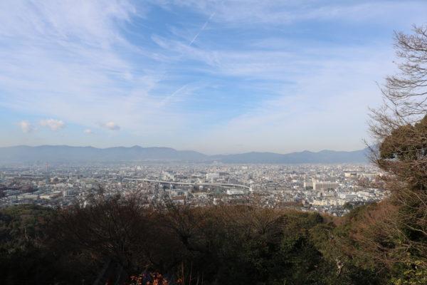 Blick auf den Talkessel von Kyoto