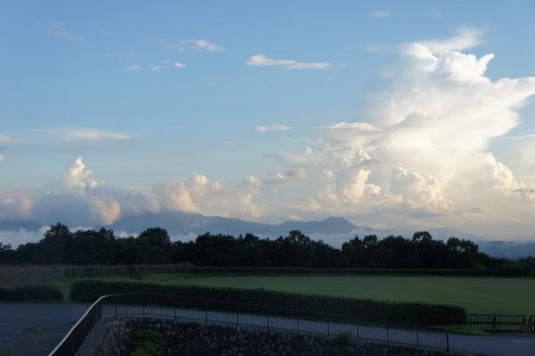 Blick vom Osten Richtung Aso