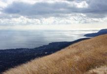 Izu-Halbinsel: Blick auf die Izu-Ogasawara-Inseln vom Ōmuro-Yama