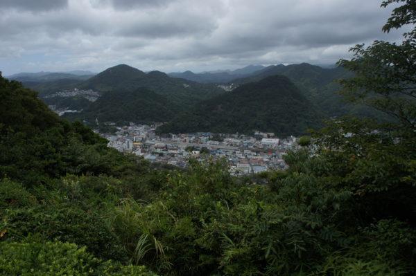 Blick vom Nesugatayama auf Shimoda