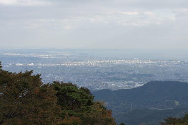 Blick auf die Shonan-Gegend Richtung Kamakura