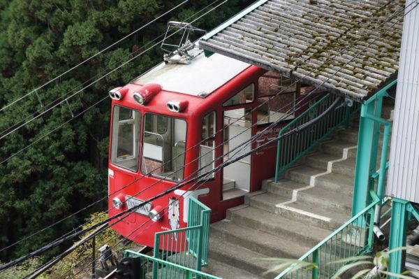 Kabelbahn zum Afuri-Schrein