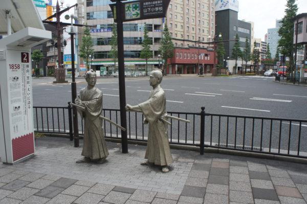 In Kagoshima ist man stolz auf die Samuraitraditionen
