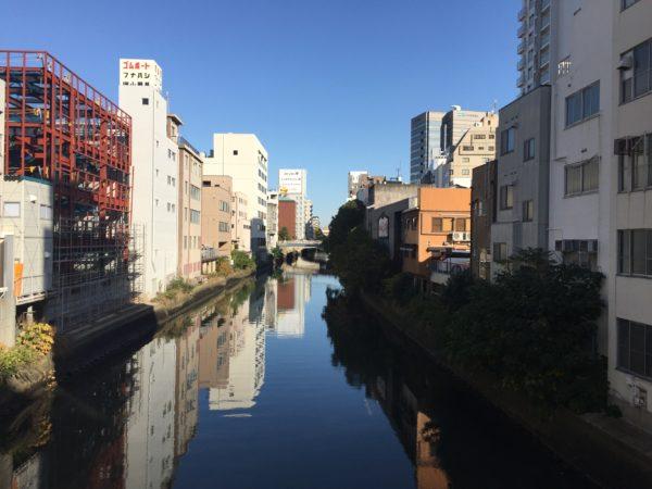 Am Horikawa im Zentrum von Nagoya