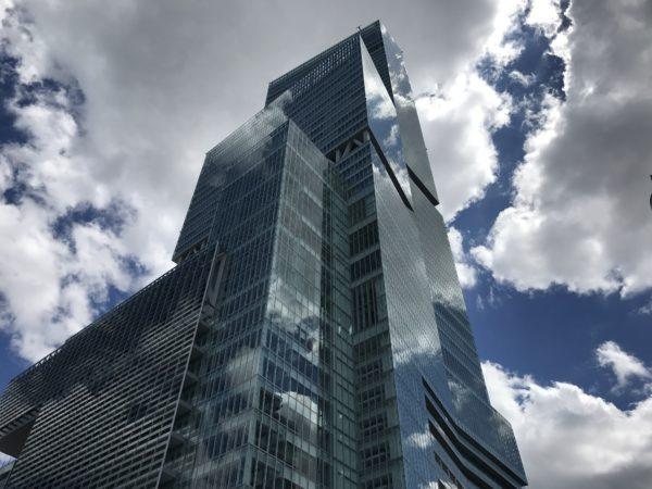 Der 300 Meter hohe Wolkenkratzer Abeno Harukas