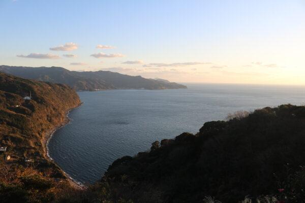 Blick entlang der Nordwestküste Richtung Toi