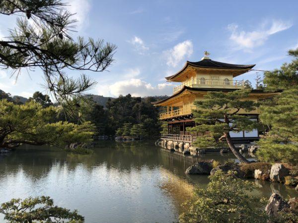Der berühmte Kinkaku-Ji in Kyoto