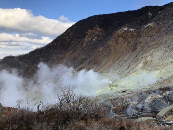Erlebnis Vulkanismus im Ōwakudani