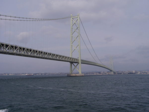 Die seit 1998 längste Hängebrücke der Welt