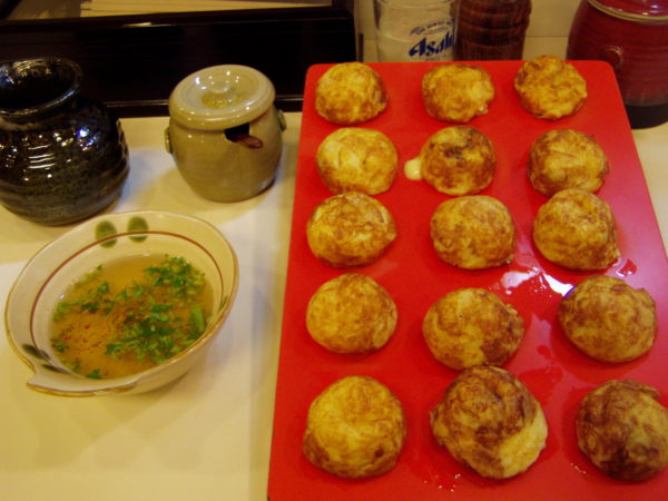 Akashi-Spezialität: Tamagoyaki