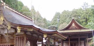 Im Ostdistrikt des Hiyoshi Taisha