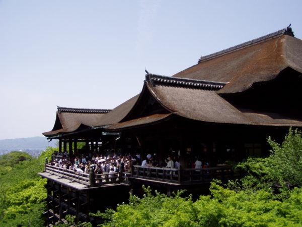 Eine der bekanntesten Ansichten von Kyoto