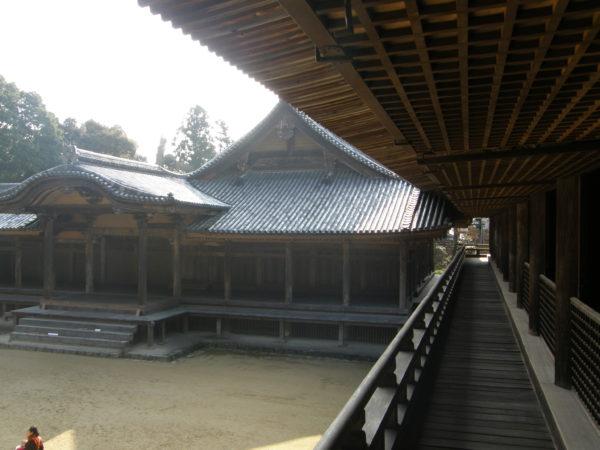 "Im grandiosen Shoshazan-Tempel - Drehort von ""Last Samurai"""