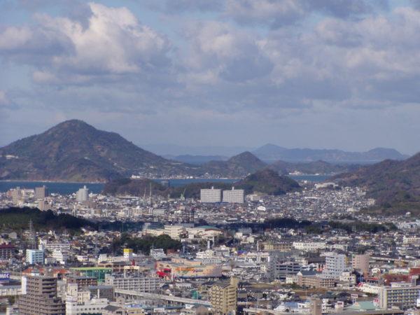 Hafen und Inseln des Seto-Binnenmeeres