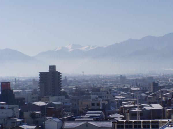 Blick auf den Westen der Stadt