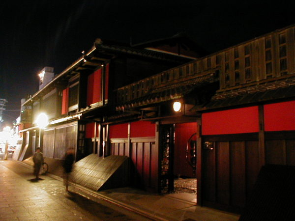 Das Ichiriki-Teehaus im Gion-Distrikt