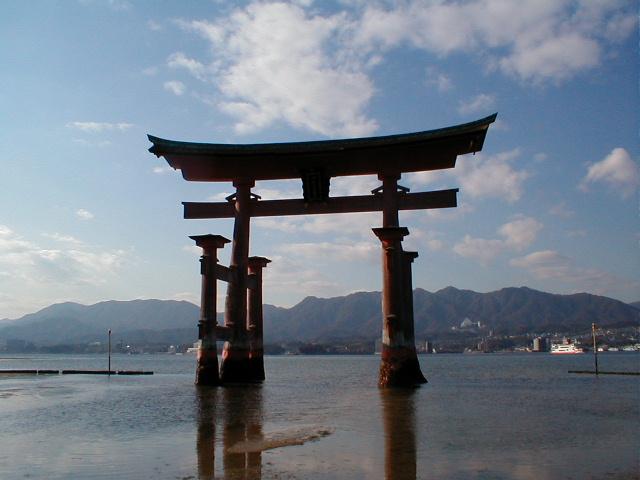 Miyajima - der schwimmende Torii