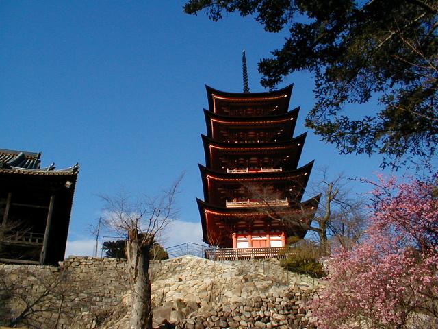 Gojūtō - die fünfstöckige Pagode