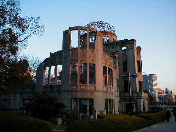 Symbol der A-Bombe: Der Atombombendom