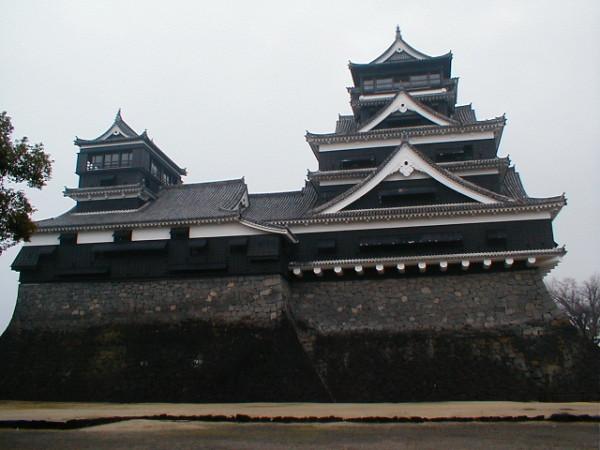 Donjon der Burg von Kumamoto