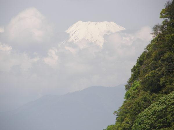 Blick von der Westküste zum Fuji-san