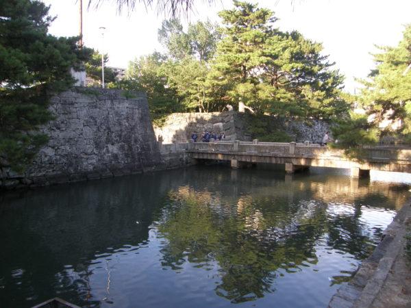 Am ehemaligen Burgwall von Tokushima