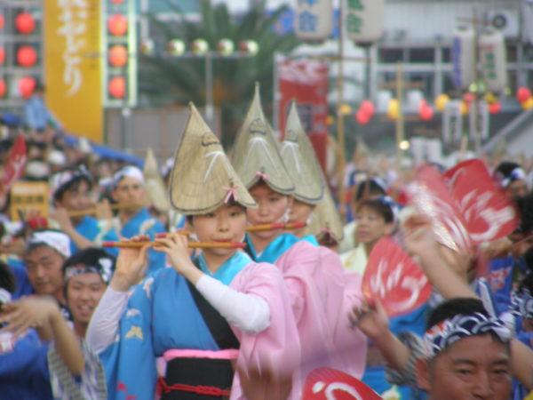 Szene beim Awa-Odori